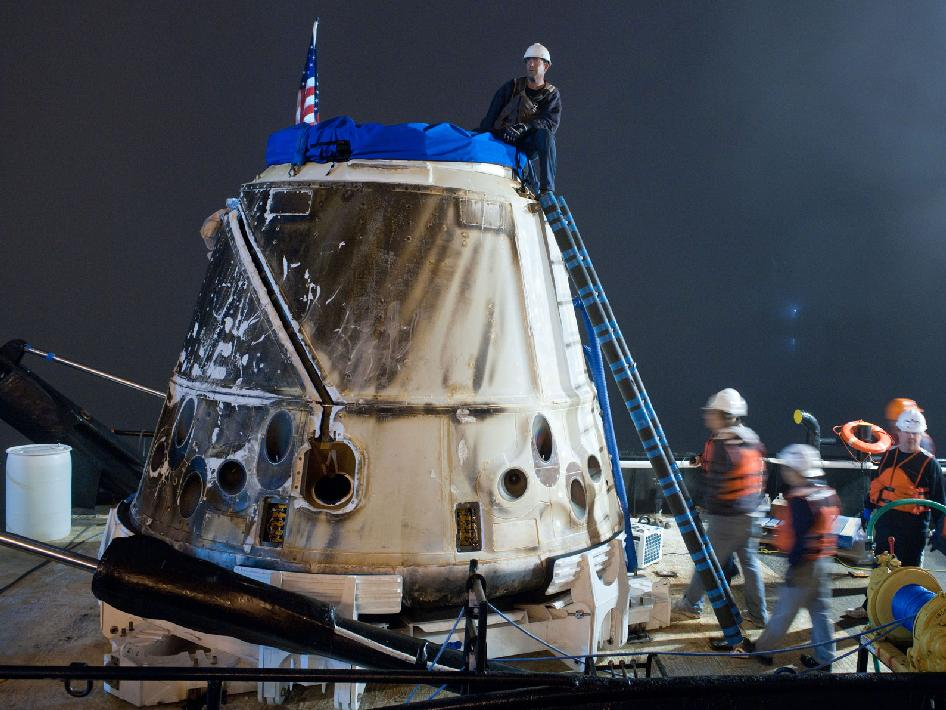 SpaceX's Dragon at Port