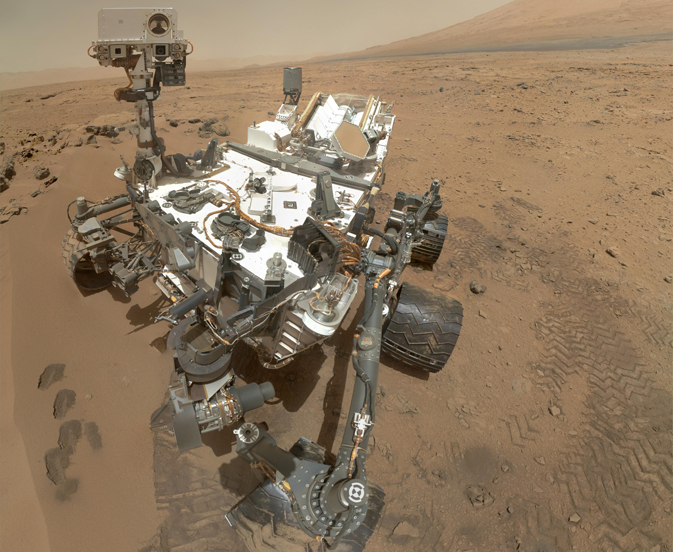 Self-portrait by Curiosity