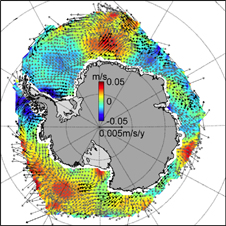 Antarctic sea ice motion