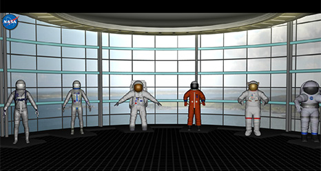 The NASA Spacesuit Interactive Feature