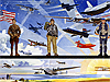 Painting of pilots and aircraft commemorates 100 years of powered flight