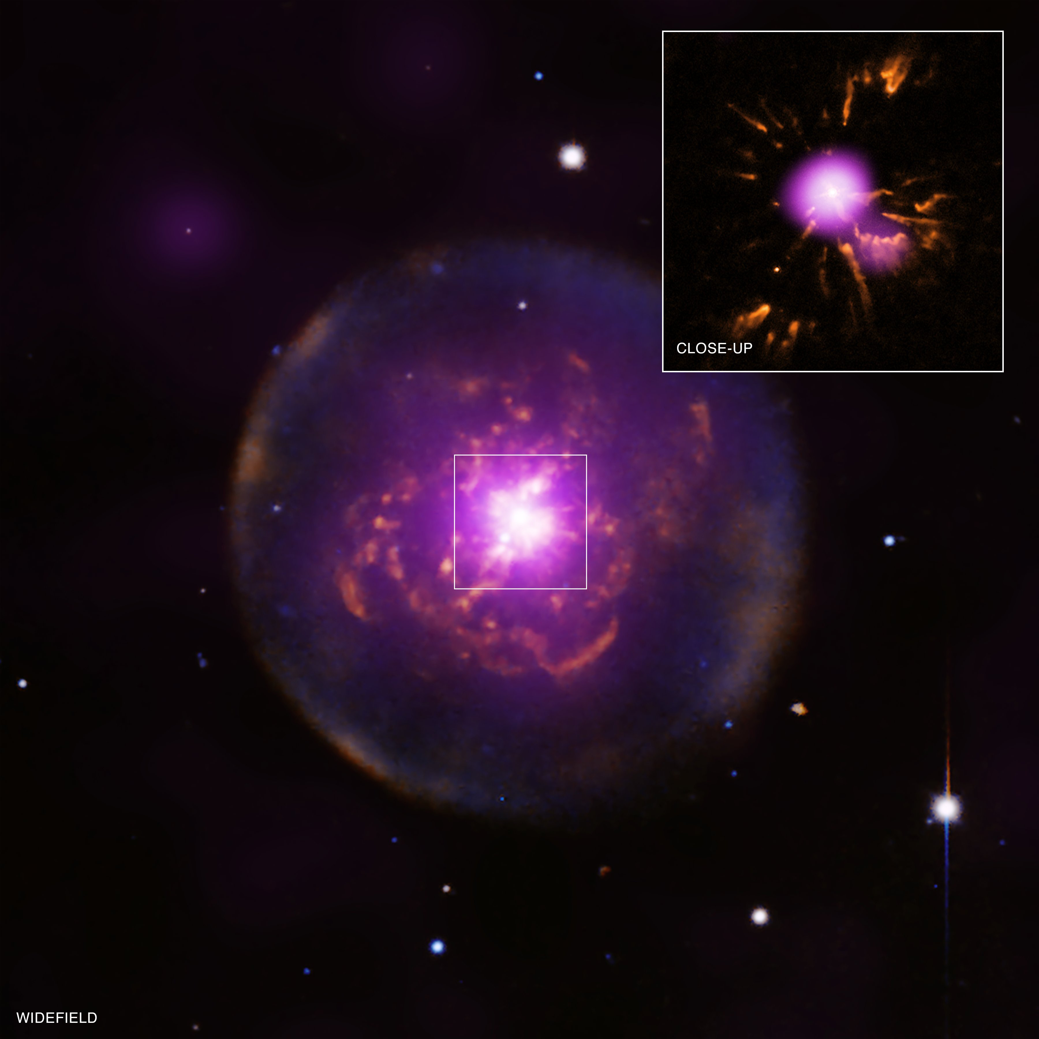 It's Full of Stars — sagansense: Planetary Nebula Reborn ...