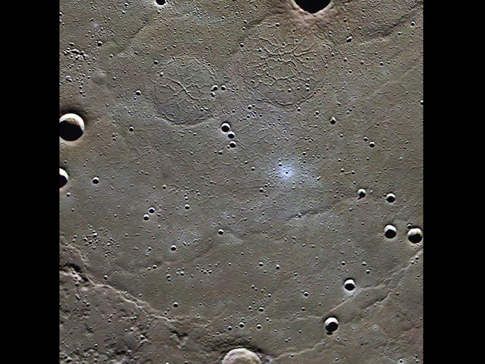 Image from Orbit of Mercury: Goethe Basin
