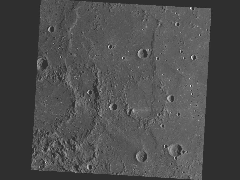 Image from Orbit of Mercury: Ghosts of Craters Past