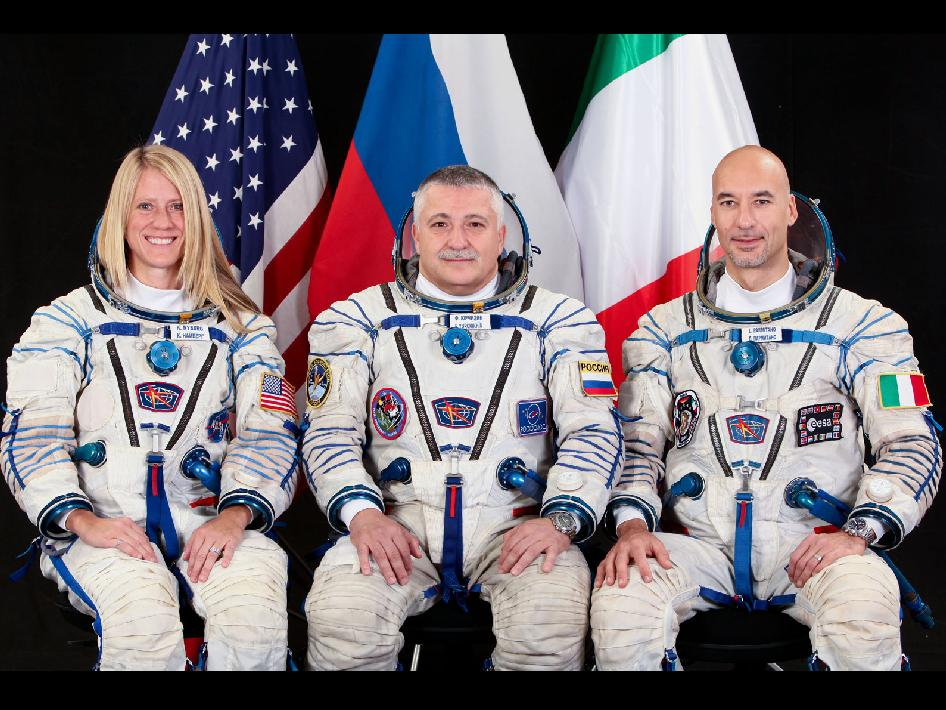 Expedition 34 backup crew members