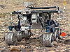 FIDO robotic rover on rocky terrain