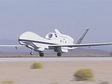 Global Hawk taking off