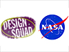 NASA and Design Squad logos
