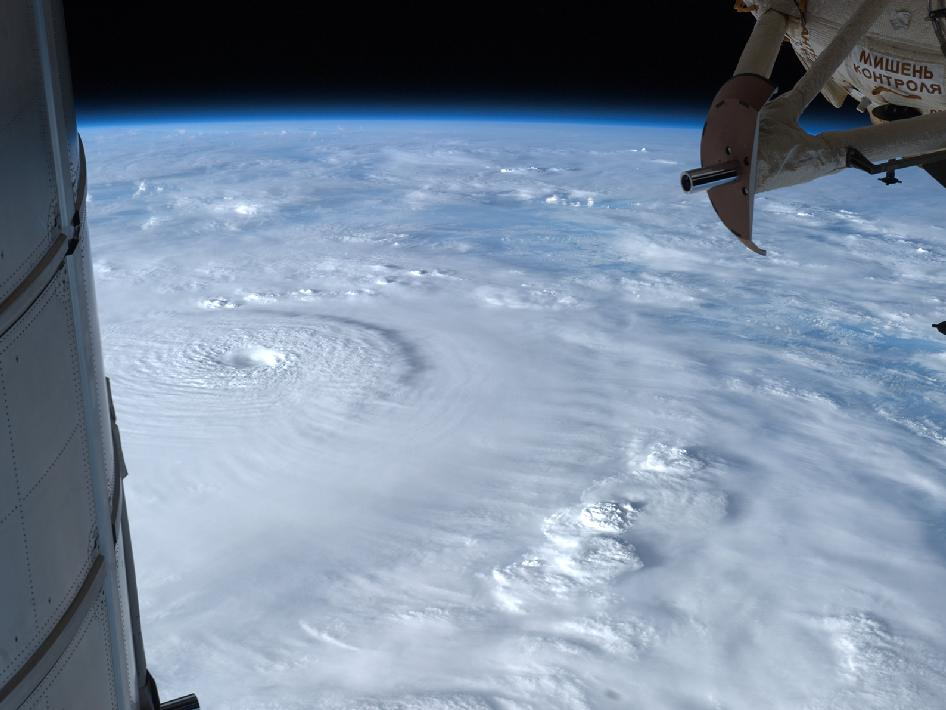 This astronaut photo of Super Typhoon Bopha was taken on Sunday, Dec. 2 from the International Space Station, by Astronaut Ford as the Category 4 storm bore down on the Philippines with winds of 135 mph. Image Credit: NASA