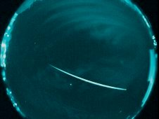 A 2011 Geminid meteor, captured by a camera at New Mexico State University, operated by the NASA Meteoroid Environment Office in Huntsville, Ala.