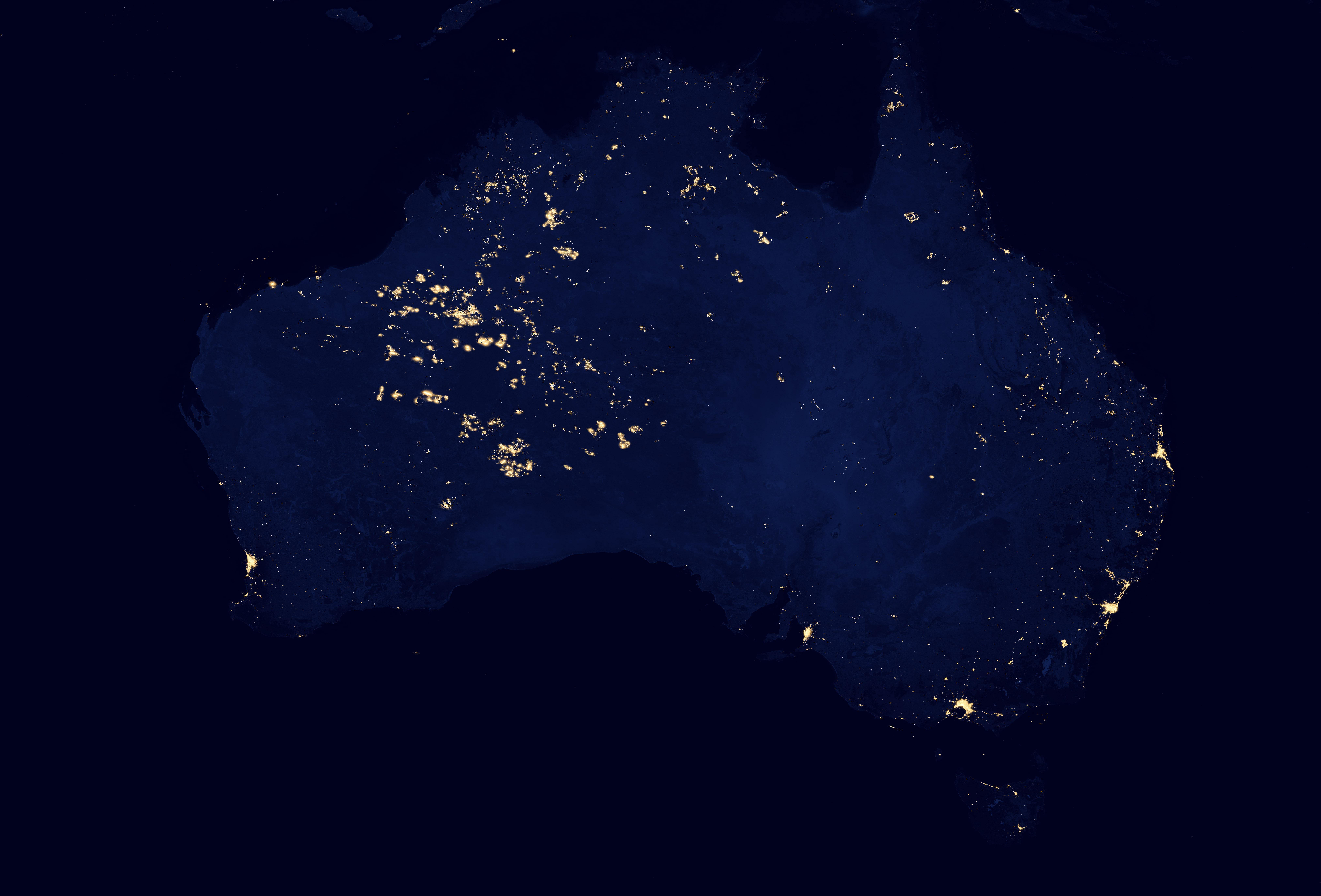 nasa world at night - photo #12