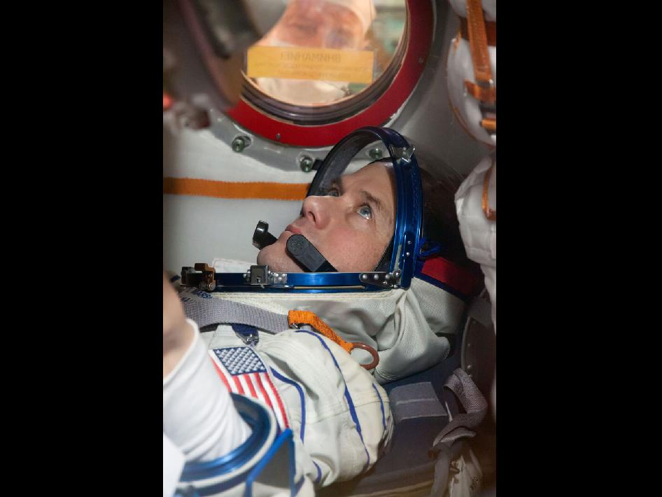Expedition 34 Flight Engineer Tom Marshburn