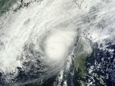MODIS captured this image of Bopha on Dec. 8 at 02:45 UTC after it had regained typhoon status