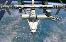 SNC's Dream Chaser at ISS