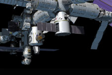 SpaceX's Dragon at ISS