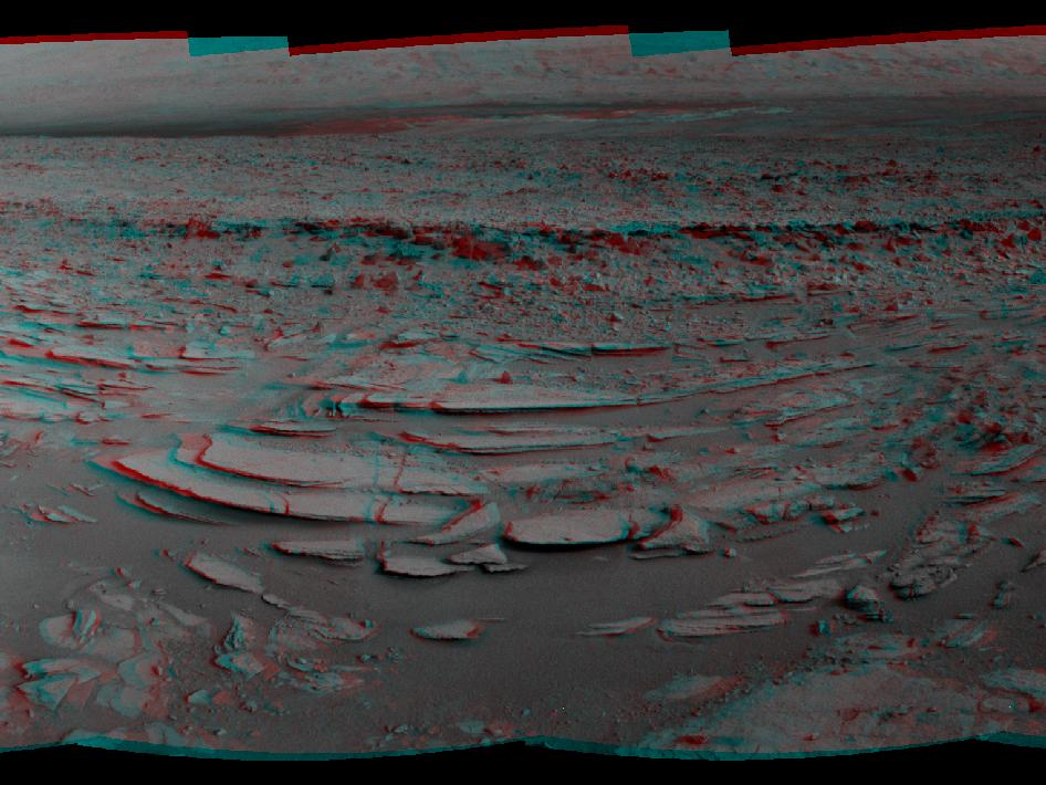 Sol 120 Panorama (Stereo)