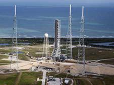 Mobile Launcher on Pad