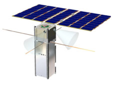 Integrated Solar Array and Reflectarray Antenna (ISARA) for High Bandwidth CubeSat