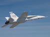 NASA Dryden's F-18 #853 flies a Research Flight Control System checkout flight recently for NASA's Integrated Resilient Aircraft Controls (IRAC) project.