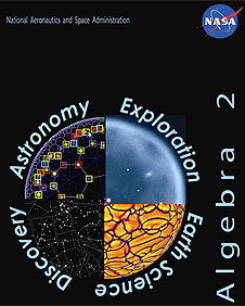 Cover of Algebra 2 With Space Science Applications