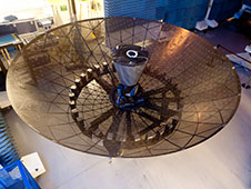 TDRS K/L Single Access Antenna. Image Credit: Boeing