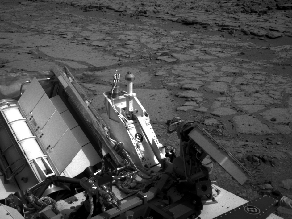 A shallow depression called 'Yellowknife Bay' on Mars