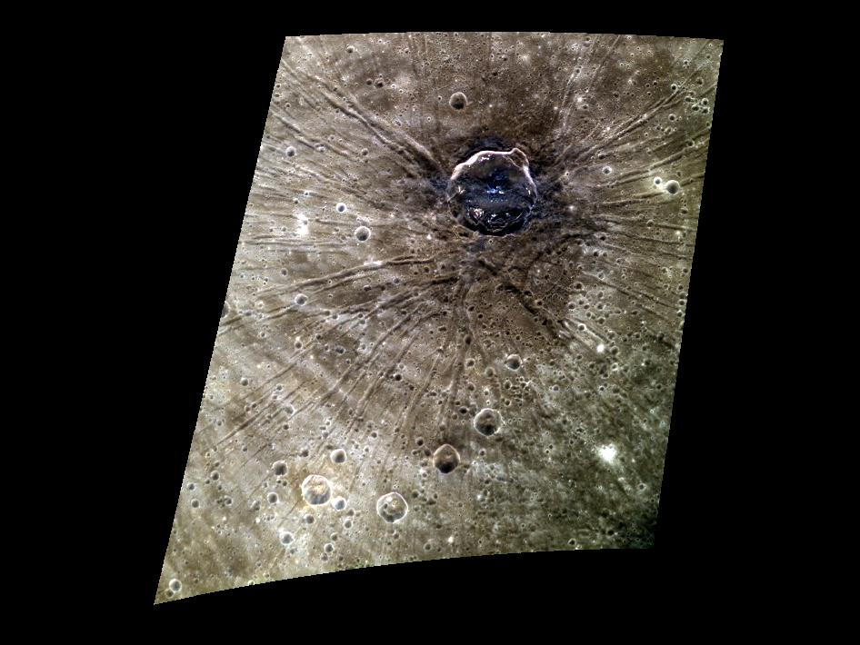 Image from Orbit of Mercury: Fossae Posse