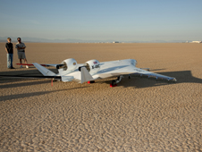 NASA and Boeing began test flights of the X-48C Blended Wing Body remotely piloted vehicle.