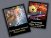 composite image of Hubble and Webb e-book covers