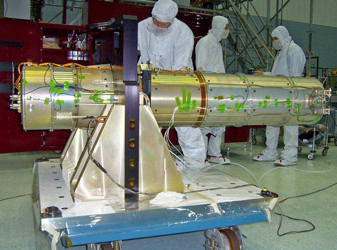 UVOT before integration into the Swift spacecraft