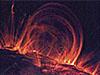 A solar flare