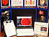 An example of a space weather action center shows displays with images and charts
