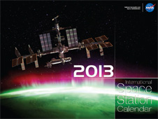 2013 International Space Station calendar