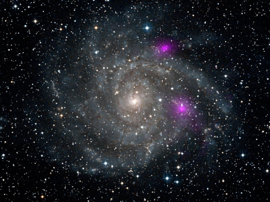Spiral galaxy IC 342, also known as Caldwell 5