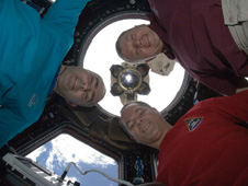 iss034e010953 -- Expedition 34 crew members