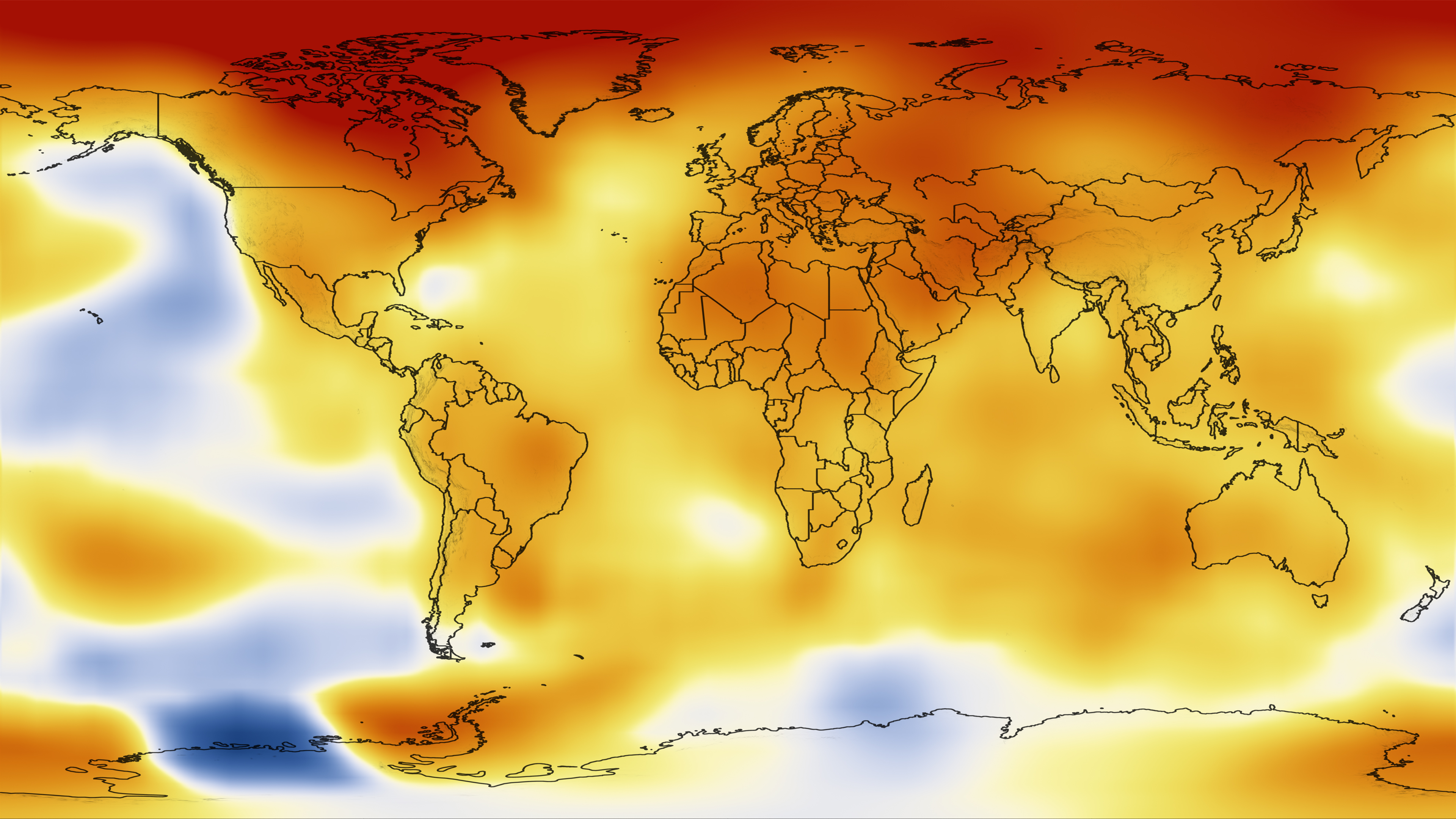 NASA NASA Finds Sustained LongTerm Climate Warming Trend - Us temperature map celsius
