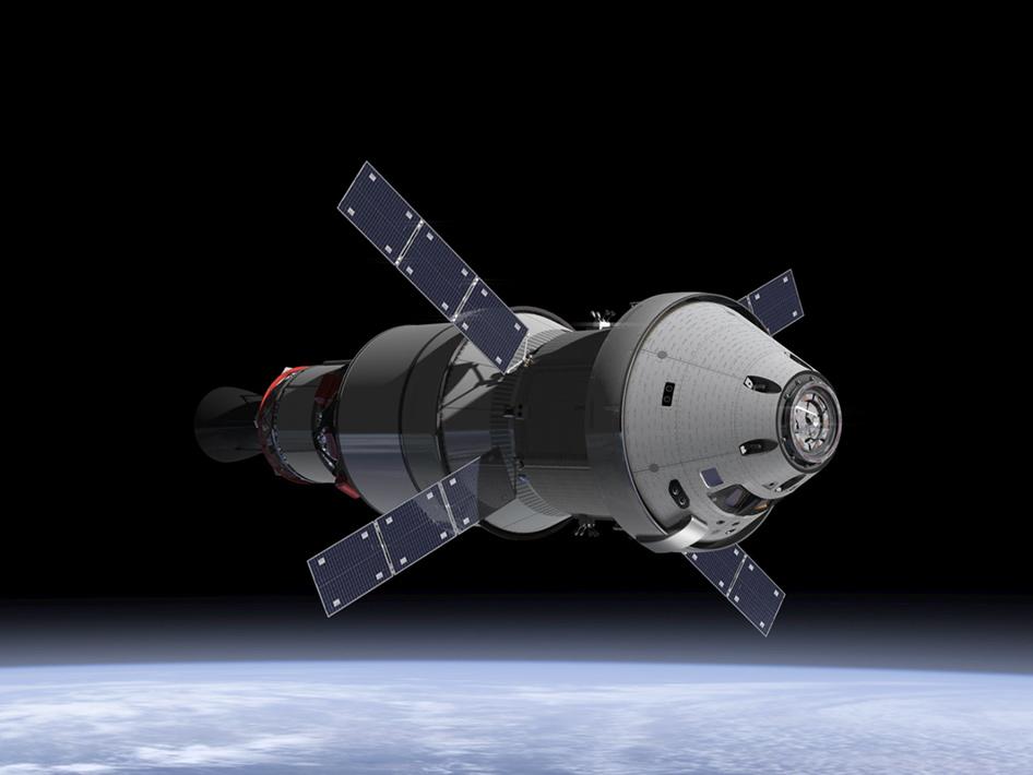 Orion Service Module artist's concept