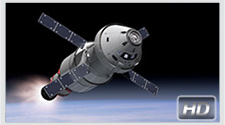 Orion Service Module animation. Credit: NASA