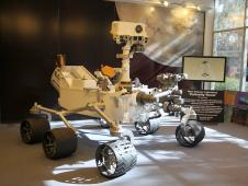 Model of the Mars rover Curiosity