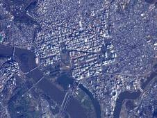 Washington, DC from orbit