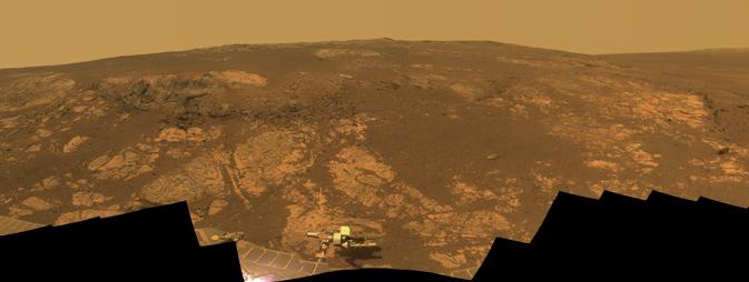 'Matijevic Hill' panorama