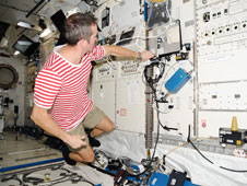 ISS034-E-031398: Astronaut Chris Hadfield