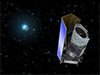 This artist's concept shows the Euclid spacecraft. Image credit: ESA/C. Carreau