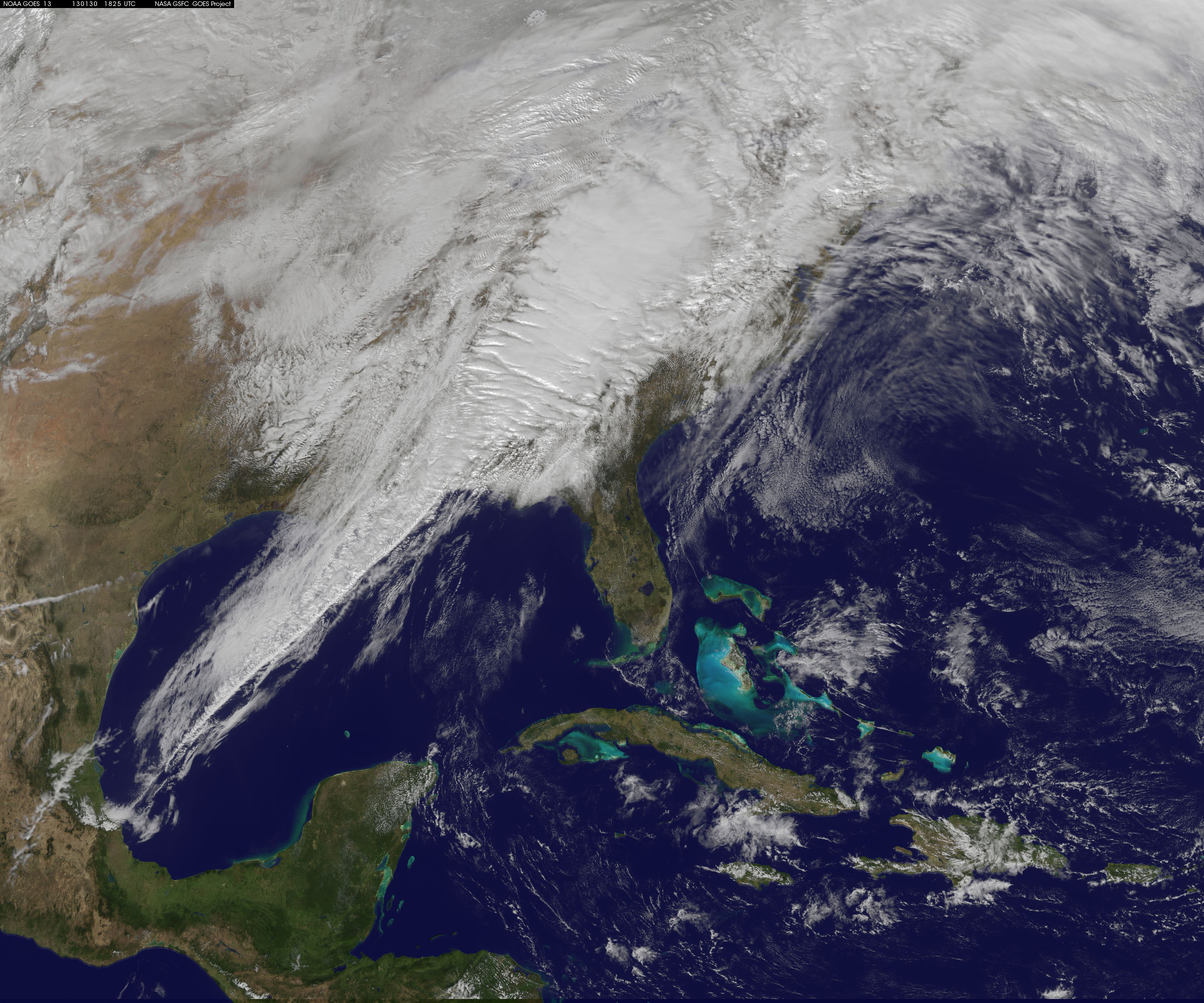 Satellite Image Shows Eastern Us Severe Weather System Climate - Weather-map-for-eastern-us