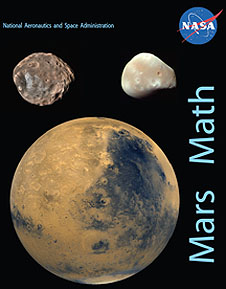 Cover of the Mars Math Educator Guide