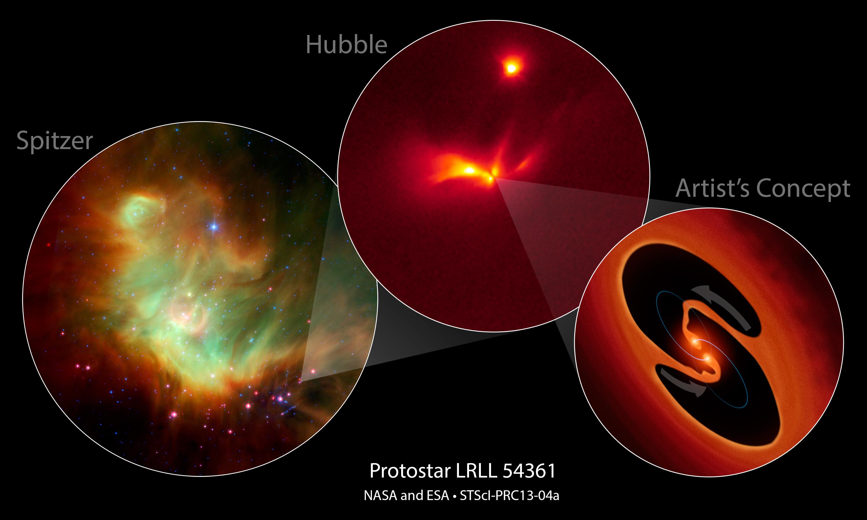 Los telescopios de la NASA descubren destellos estroboscópi