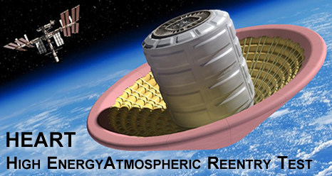 NASA's High Energy Atmospheric Reentry Test (HEART)