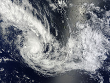 MODIS image of Haley