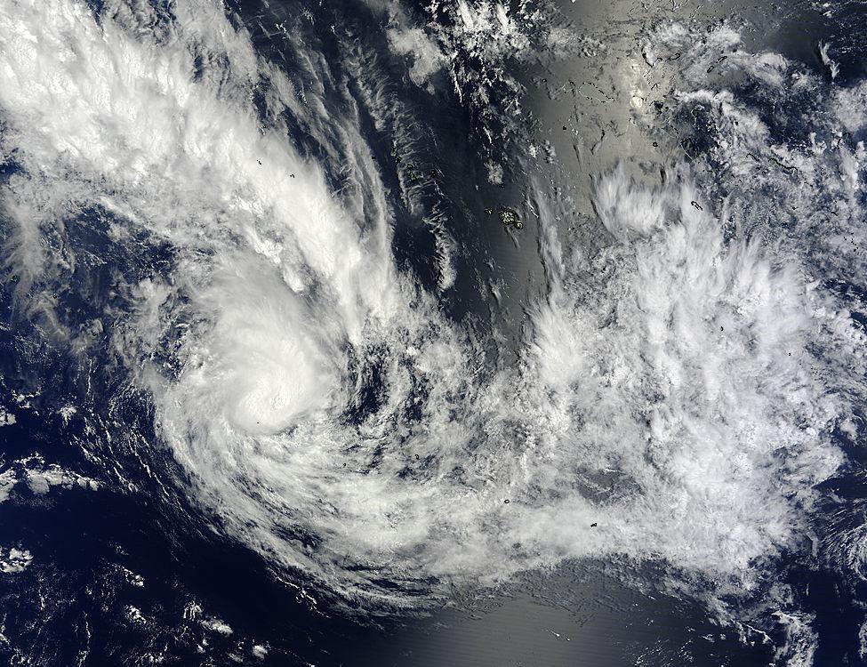 พายุหมุนเขตร้อนเฮลีย์กำลังเกิดในมหาสมุทรแปซิฟิกใต้