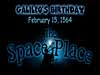 Words 'Galileo's Birthday February 15, 1564 The Space Place'